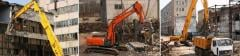 Демонтаж и выемка фундаментов и железобетонных оснований