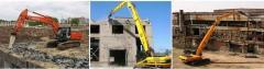 Демонтаж заглубленных сооружений