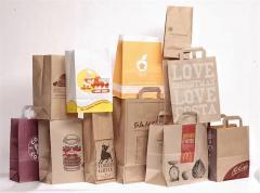 Нанесение изображения на бумажные пакеты