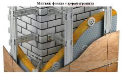 Вентилируемый фасад кассетного и реечного  типа