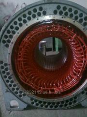 Перемотка и ремонт высоковольтных электродвигателей
