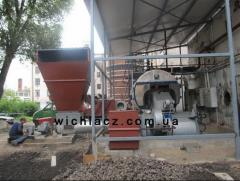 Переоборудование паровых и водогрейных котлов на твердое топливо