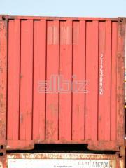 Deniz konteynerlerinde uluslararası nakliyat...