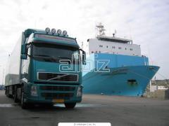 Trasporto del carico, lavori di carico e scarico