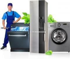 Ремонты стиральных машин, кондиц, холодильников, бойлеров, тв и др