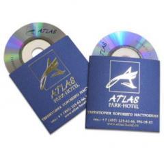 Обложки, вкладыши для CD, DVD