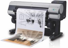 Печать афиш, плакатов, чертежей