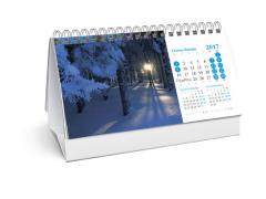 Переплет календарей (квартальных, настольных, настенных, перекидных)