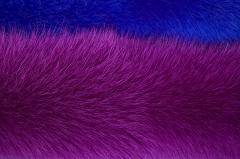 Мех Песец Shadow fox Фиалент,  Електрик