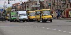 Реклама в маршрутных такси Чернигова