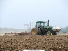 Processing of the earth disk harrows