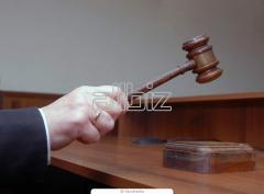 Представительство интересов заказчика по вопросам учета, аудита, налогообложения в суде.