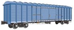 Перевозка грузов в крытых вагонах и автотранспорт
