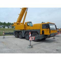 Аренда автокрана Liebherr LTM 1090-1