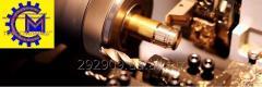 Токарная обработка диаметром до 800 мм, длинной до 4500 мм