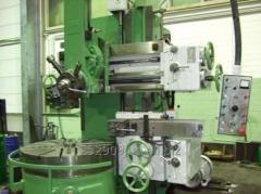 Токарно-карусельные работы диаметром до 1050 мм, длинной до 300 мм