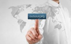Outsourcing of foreign trade activities