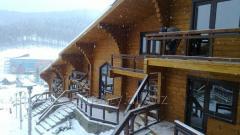 Производство деревянных домов из сосны и ели