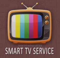 Настройка Смарт тв Smart tv Харьков,разблокировка,прошивка,смена региона,подключение IPTV