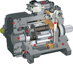 Repair of hydraulics (hydraulic pumps, hydraulic motors, hydraulic cylinders and maslostantion)