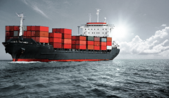 International container shipping