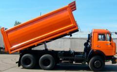 Automobile unpacked and bulk cargoes