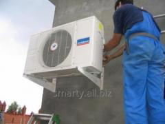 Installation and maintenance of air conditioners
