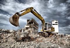 Демонтаж зданий и сооружений. Промышленный...