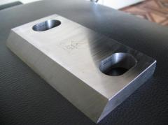 Изготовление ножей для дробилок