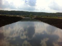Очистка озер,  каналов,  водоемов,  услуги...