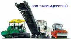 Асфальтирование дорог Киев,  укладка ФЕМа  в...