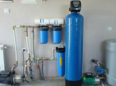 Design and installation of water supply facilities
