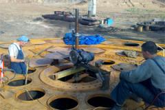Восстановление фланцев и трубных решеток