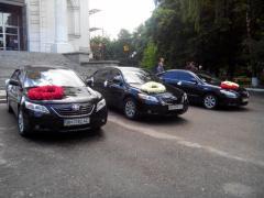 Свадебный Кортеж прокат Авто на свадьбу Toyota Camry Тойота Кемри Сумы