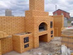 Brickwork and installation of stoves and fireplaces