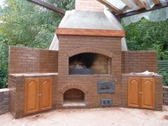 Laying of stoves and fireplaces