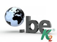 Регистрация домена be