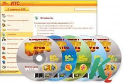 Информационно-технологическое сопровождение 1С: ИТС Проф информационно-техническое сопровождение 1С на 6 месяцев