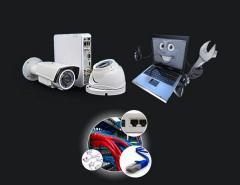 Установка внешней или антивандальной камеры (IP, аналого-вая, HDCVI) до 2.8 метров