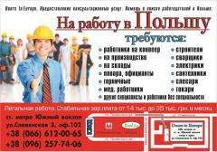 Doors to Europe - Работа в Польше