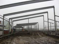 Строительство навесов под с г технику