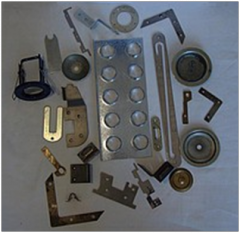 Services of cold sheet metal stamping