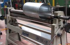 Services of rolling of sheet rolled metal