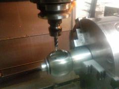 Механічна обробка 2-6 осьова деталей складної
