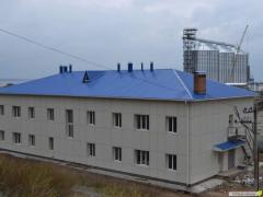 Design and construction of non-residential and industrial  buildings