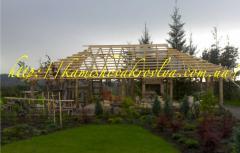 Construction of pavilions