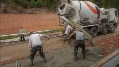 Építési anyagok kiszállítása