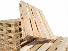 Принимаем деревянные БУ поддоны
