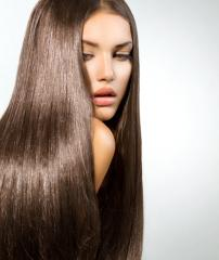 Укладка наращенных волос