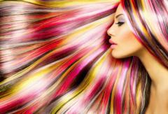 Блондирование волос (осветление)